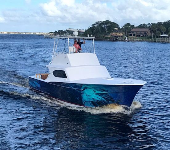 florida fishing charters hot to go boat